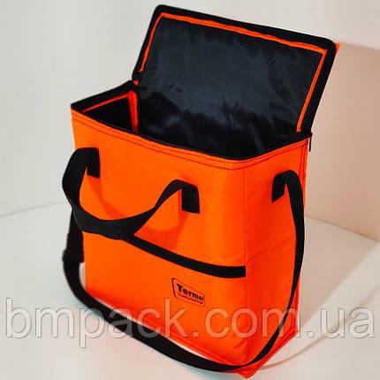Термосумка Termol 17л. 37х13х36 см оранж люм, фото 2