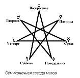 Семиконечная звезда магов, фото 2