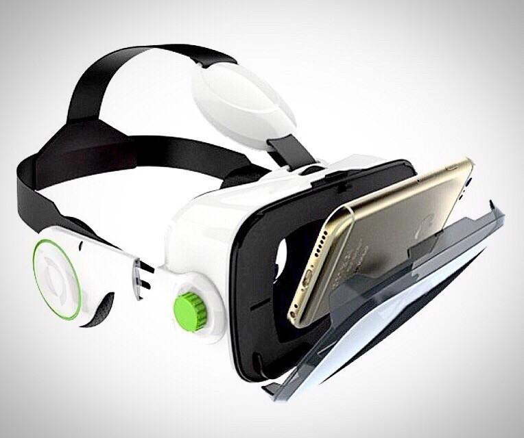 Очки виртуальной реальности со встроенными наушниками VR Z4 Virtual Reality Glasses для смартфона