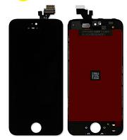 Дисплей (экран) для iPhone 5 айфон + тачскрин, цвет черный, копия хорошего качества