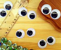 (10грамм, Ø30мм) Подвижные глазки для игрушек Ø30мм (≈14-16 глазок), фото 1