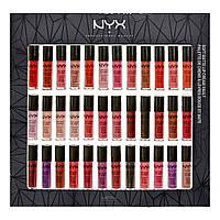 Набор помад NYX Soft Matte Lip Cream Vault 36 in 1 УЦЕНКА(примятая упаковка), фото 1