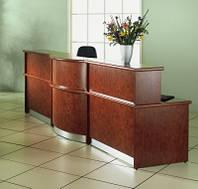 Административные стойки, рецепшн, рецепшен-стойка, торговая мебель, фото 1