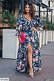 Стильное платье    (размеры 48-64) 0254-89, фото 2