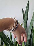 Браслет многорядный Жемчуг и цепочки, фото 10