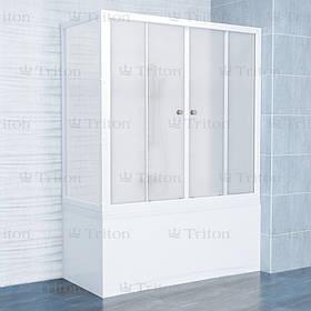 Шторка для ванн Triton стекло Эко 150 см