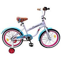 Велосипед детский двухколесный Cruiser 18 дюймов T-21834 бирюзовый