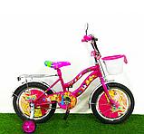 Двухколёсный велосипед Mustang Winx 16 дюймов розовый, фото 2