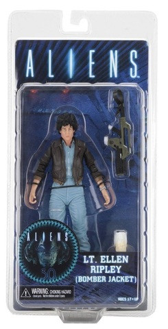 Фигурка Чужие 12 серия Эллен Рипли - Aliens Series 12 Ripley Bomber Jacket Figure