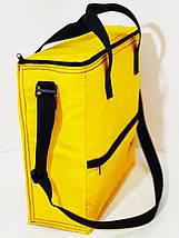 Термосумка Termol 17л. 37х13х36 см желтая, фото 3