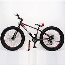 """Спортивний алюмінієвий велосипед позашляховик фэтбайк Fat Bike S800 HAMMER EXTRIME 26 дюймів рама 17"""""""