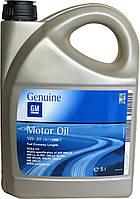 """Масло моторное синтетическое """"Dexos 2 5W-30"""", канистра 5л, Acea C3 SN/CF/ GM-LL-A-025/ VW 502.00; 505.00;"""