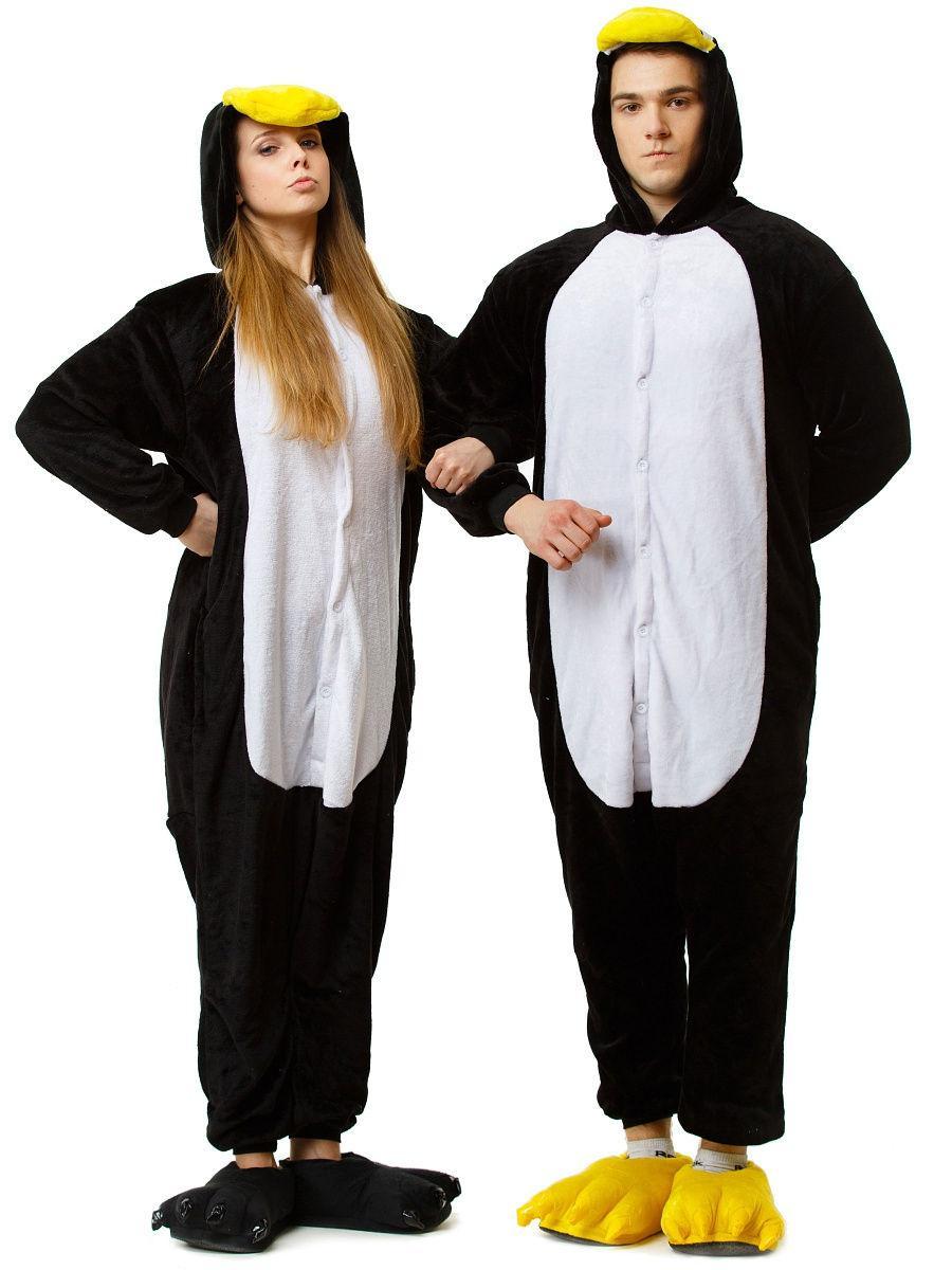 Пижама кигуруми Пингвин S (150-160см)