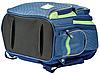 Рюкзак школьный ортопедический YES S-30 Juno School time, синий, фото 2