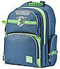 Рюкзак школьный ортопедический YES S-30 Juno School time, синий, фото 3