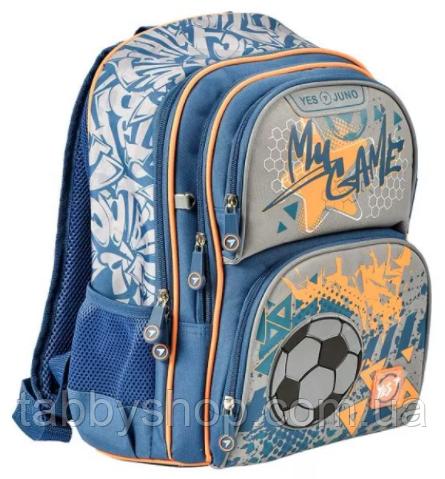 Рюкзак школьный ортопедический YES S-30 Juno Football