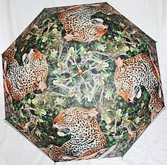 Зонт-трость женский SR K355 ягуар