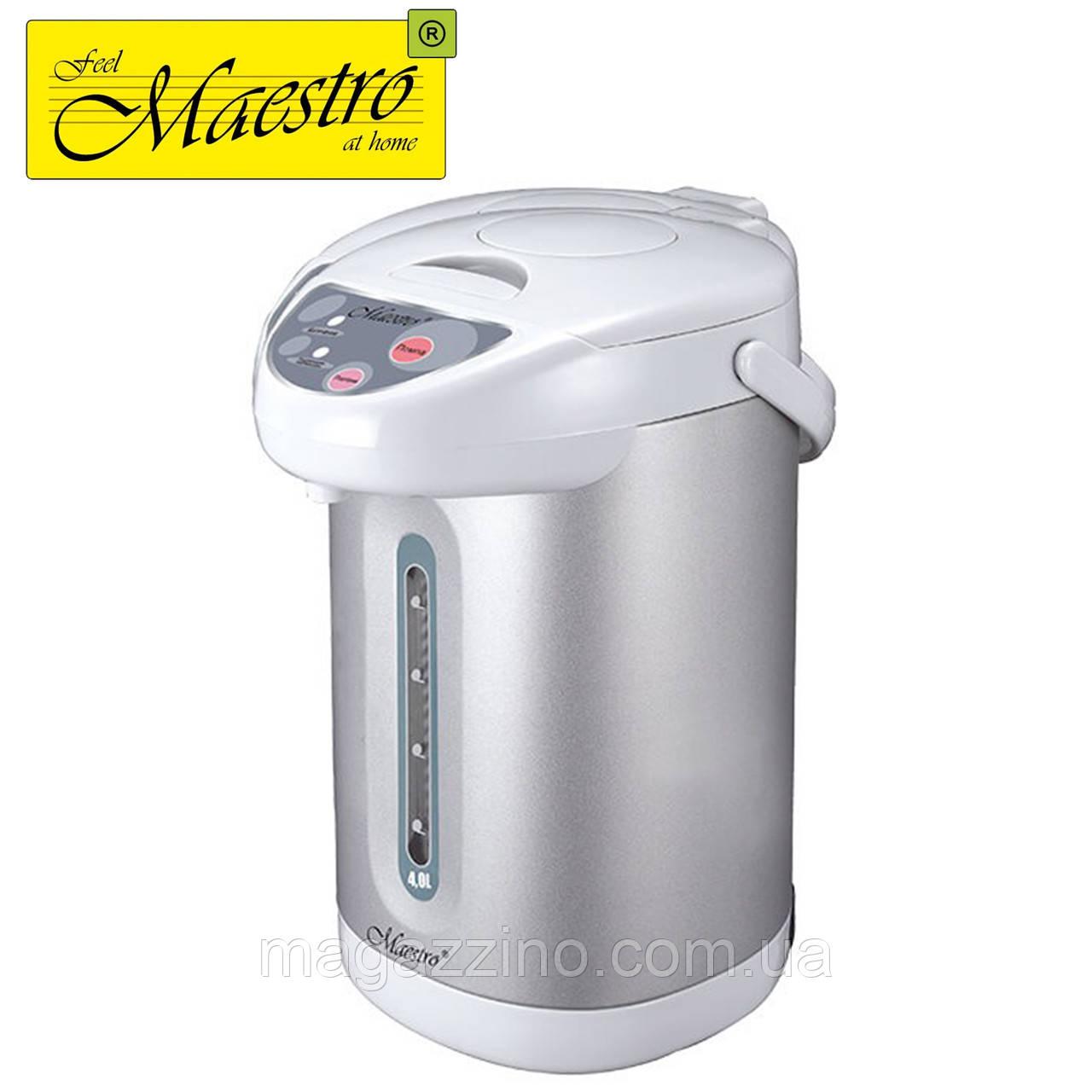 Термопот, чайник-термос Maestro MR-082, 3,3 л, 750 Вт.