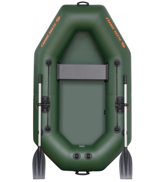 Надувная одноместная гребная лодка Kolibri K-220X без комплектации