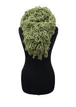 Шарф объемный Vende 02345 One Size зеленый (ts-02442)