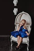 Нарядное блестящее платье для девочки короткое