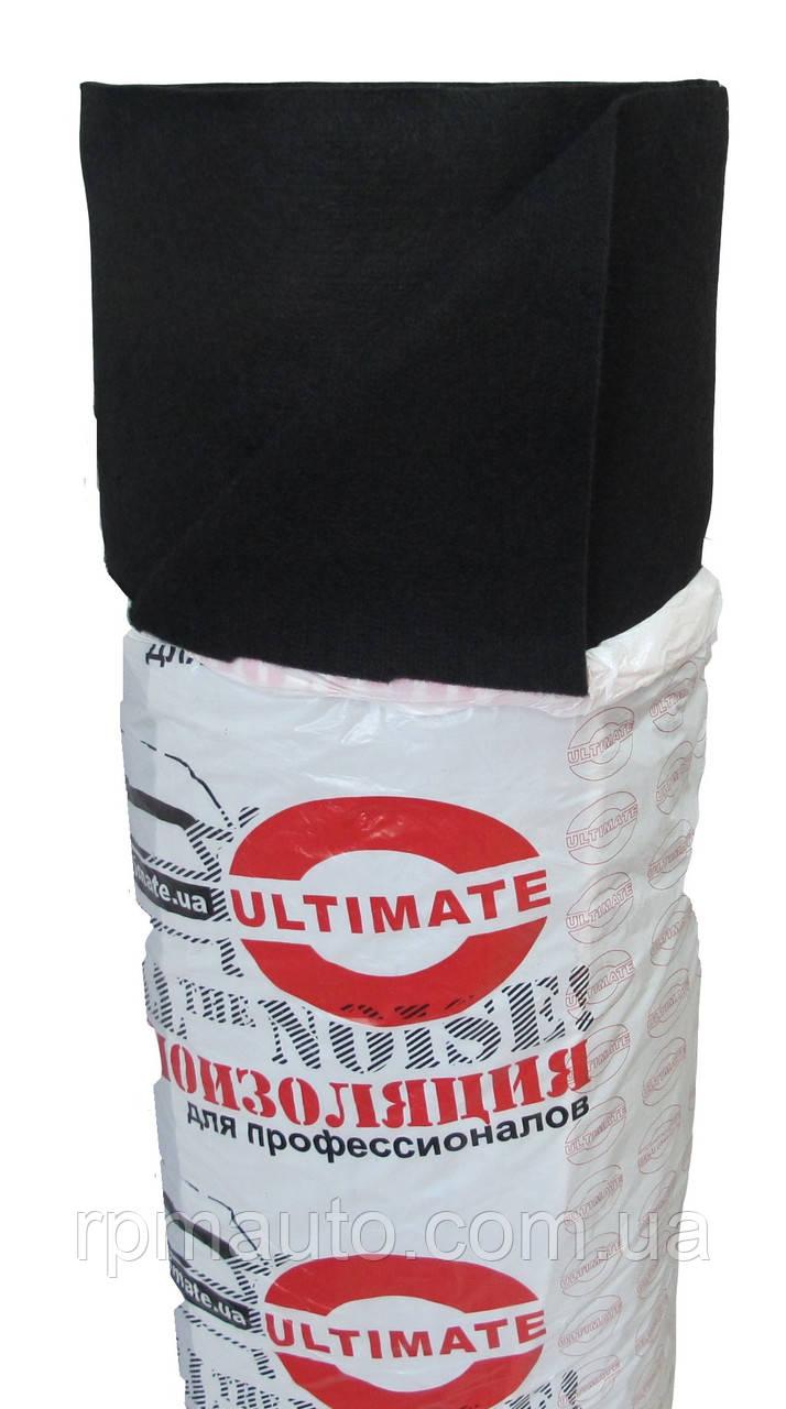 Карпет для Авто Ultimate Чорний 1,4 м Ковролін Автоковролин Тканина для Обшивки Стелі Салону Автомобіля