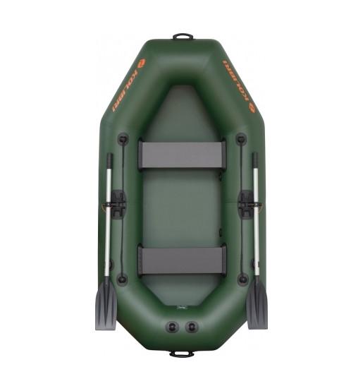Надувная двухместная гребная лодка Kolibri K-240X без комплектации