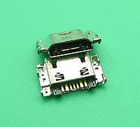 Micro USB роз'єм 7pin для Samsung J5 J7 J330 J530 J730 J1 J100 J500 J5008 J500F J700F J7008, фото 1
