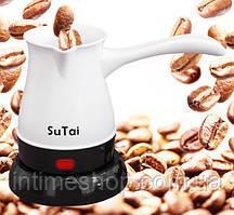 """Электро-турка (джезва) """"SuTai"""" электрическая кофеварка для кофе по турецки (електротурка) (TI)"""