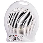 Кімнатний підлоговий обігрівач тепловентилятор дуйка з терморегулятором 2000 Вт