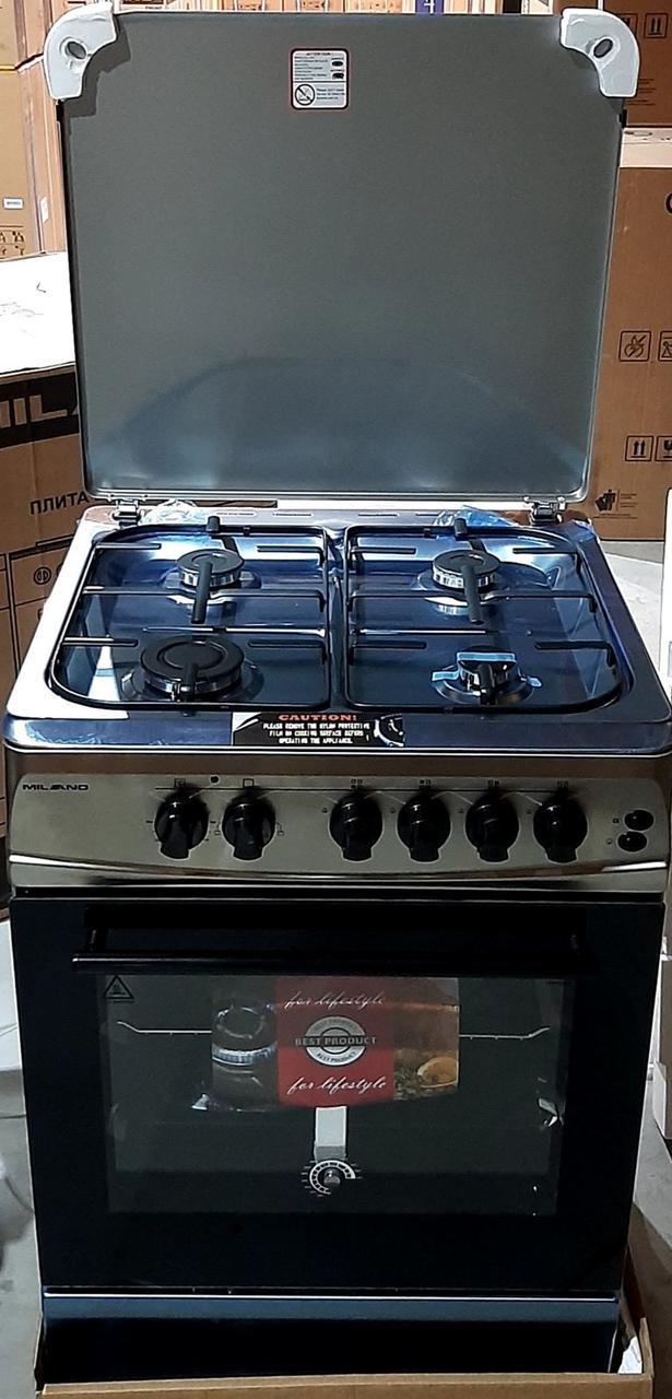 Плита газо-электрическая комбинированная Milano ML60E20 Сталь 608207