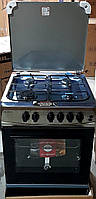 Плита газо-электрическая комбинированная Milano ML60E20 Сталь 608207, фото 1