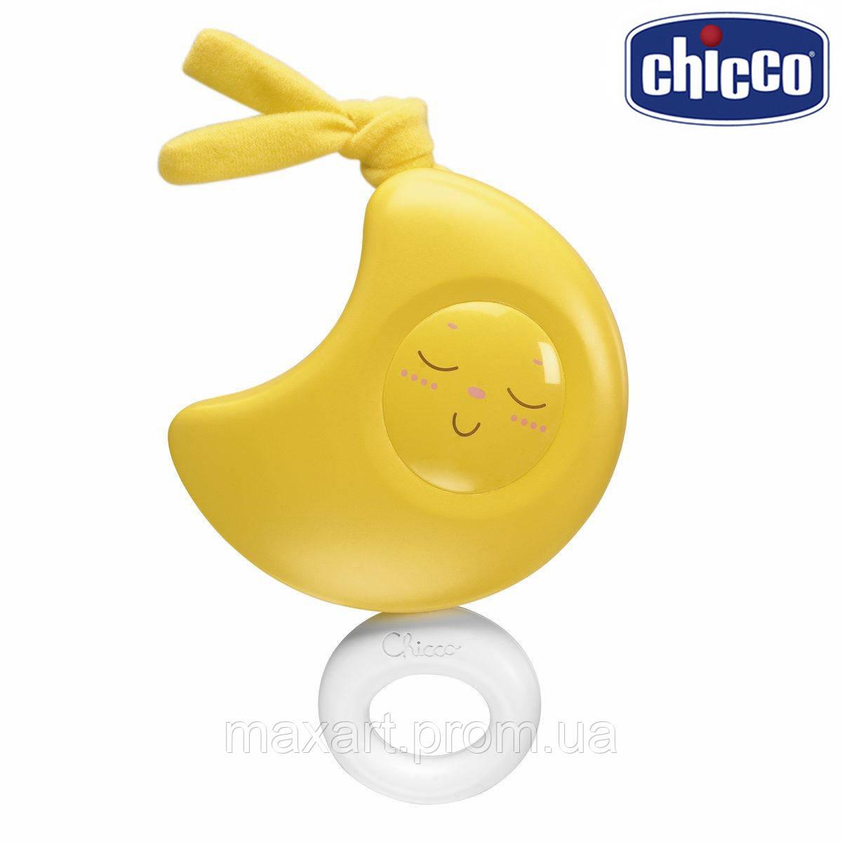 Подвеска музыкальная Chicco - Луна (01192.00) желтый