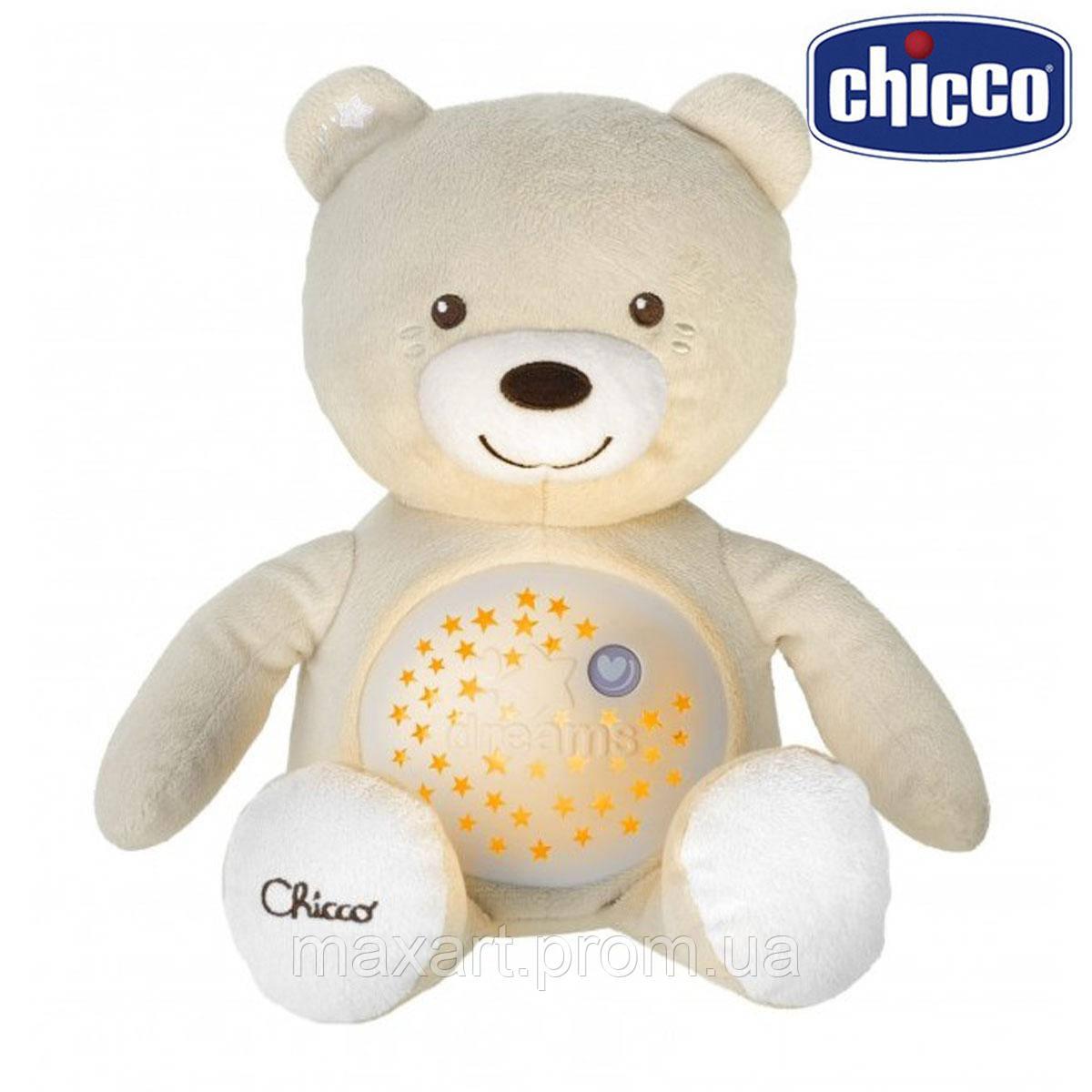 Игрушка музыкальная Chicco - Медвежонок (08015.00) бежевый