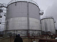 Производство работ по теплоизоляции резервуаров мазута
