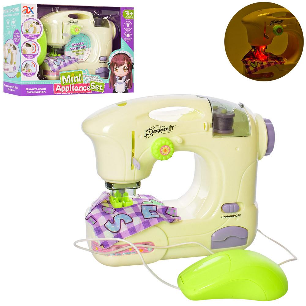 Дитяча швейна машинка з педаллю керування A-Toys (6992A)