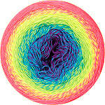 YarnArt Flowers Vivid (Ярнарт Фловерс Вивид) № 505 (Пряжа хлопковая, нитки для вязания)