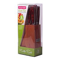 Набір ножів Kamille 6 предметів з нержавіючої сталі KM-5109
