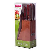 Набір ножів Kamille 7 предметів з нержавіючої сталі KM-5110