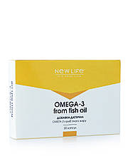 OMEGA-3 FROM FISH OIL 20 КАПСУЛ В БЛИСТЕРАХ