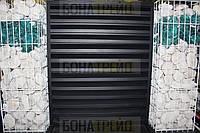 Секционный забор «жалюзи»