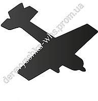 """Форма для меловой доски """"Самолетик"""""""