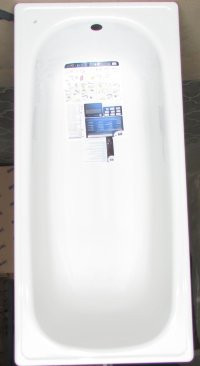 Сталева ванна 120 BLB з ніжками