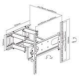 Крепление для телевизора Cabletech (UCH0198-2), фото 4