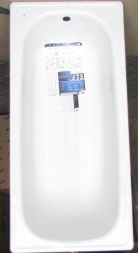 Ванна стальная эмалированная 130 на 70 см BLB без ног