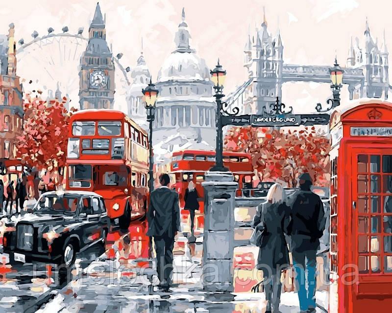 Набор для рисования Babylon Очарование Лондона Худ. МакНейл Ричард  VP441