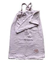 Женский комплект для бани Linda (сарафан, капюшон) Kadir pembe XL/XXL розовый (8698485045764)