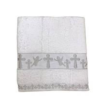 Крыжма для крещения Sikel Organic Cotton 70*140 серебро (ts-01897)