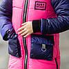 """Зимняя модная куртка для девочки """"Джаст"""", фото 4"""