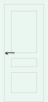 Межкомнатные двери Брама модель 7.4 (краска)